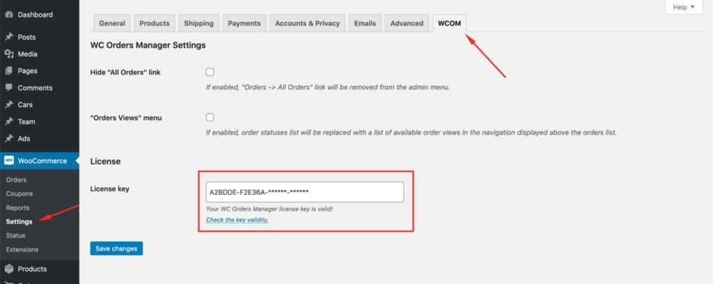 How to install WCOM?